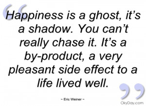 happiness is a ghost eric weiner