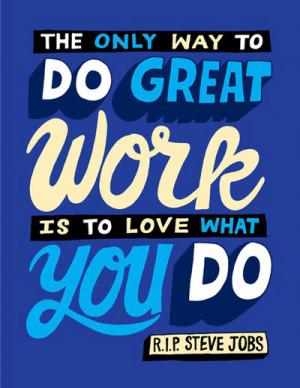 Steve Jobs Success Picture Quote