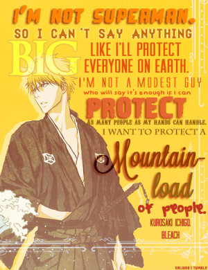 Bleach Anime Quotes...