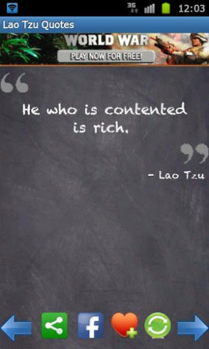 View bigger - Lao Tzu Quotes & Taoism for Android screenshot
