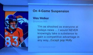 Wes Welker Gives Denver Post Conflicting Quote
