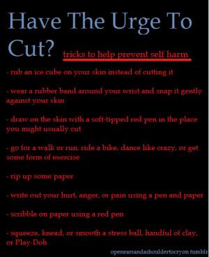 Stop Cutting Tumblr