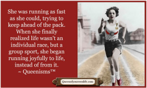 Running Quotes For Women She was running as fast as she