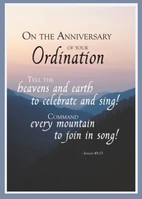 Catholic Priest 25th Anniversary of Ordination, Silver Jubilee