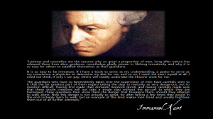 quote:Immanuel Kant on Lifelong Immaturity