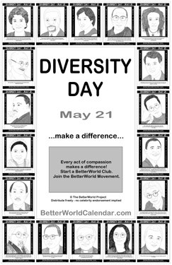 may 21 diversity day diversity quote