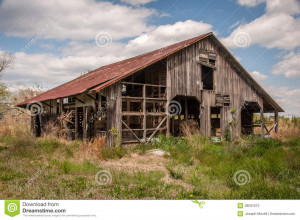 Country Barn Photography Old broken-down country barn