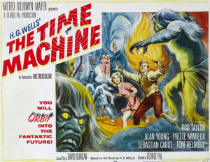 HG Wells wasn't the first literary inventor of the time machine, but ...