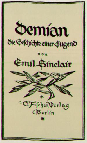 Materialien zu Hermann Hesses DEMIAN, II