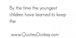 Youngest Child Quotes