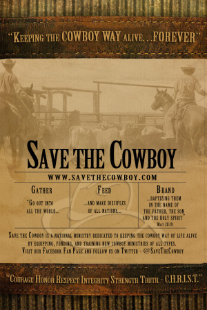 ... the latest cowboy sermons from save the cowboy and kevin weatherby