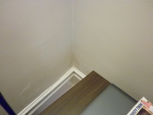 damp area in lounge (opposite corner at pic at top re lounge damp ...