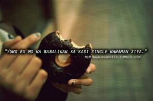 Single sayings tagalog