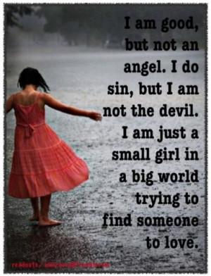 sayings #love #good #bad #feelings #world #sin #angel #Readouts