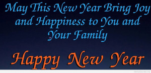 Family happy new year quote