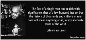 Single Men Quotes
