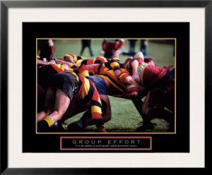 Motivational Rugby Quotes Group effort - rugby