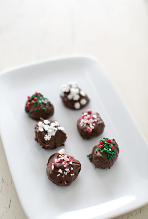 These are the christmas chocolate truffles image Pictures