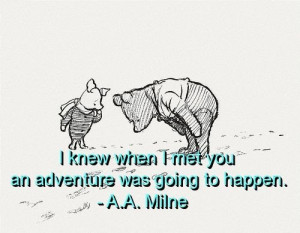 Aa milne, quotes, sayings, friends, touching quote