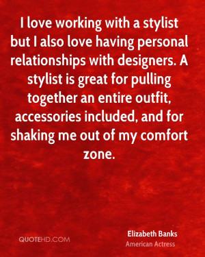 love working with a stylist but I also love having personal ...