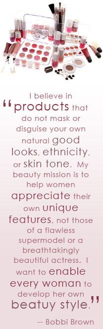 Makeup Artist Bobbi Brown Quote