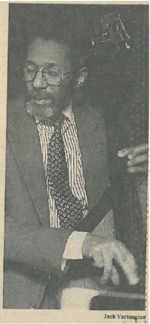Ron Carter (c) Jack Vartoogian from the 1995 NYT