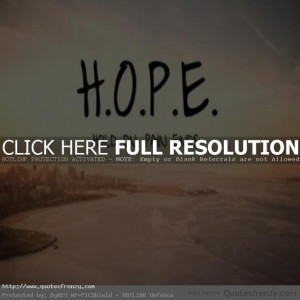 hope beach sunset Quotes Quotes