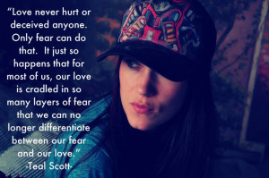 Fear of Love Quote