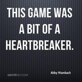 More Abby Wambach Quotes