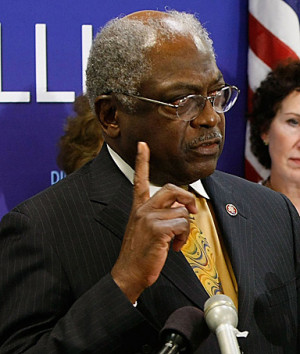 Rep. James E. Clyburn, of South Carolina, the highest-ranking African ...