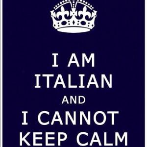 Allison Licata I'm Italian and I Cannot Keep Calm :)