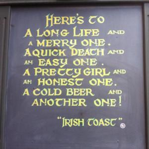 Beer, Irish Blessed, Irish Quotes, Favorite Irish, Chalkboard Quotes ...