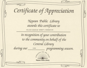 Examples Wording Certificates Appreciation http://www.kpk-ottawa.org ...