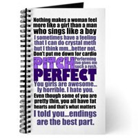 pitch perfect quotes pitch perfect notebooks