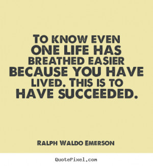 ... ralph waldo emerson more success quotes inspirational quotes