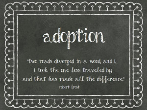 Adoption. Adoption Quotes And Poems. View Original . [Updated on 12/15 ...