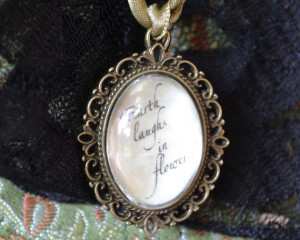 Emerson Quote Pendant, Inspirational Words