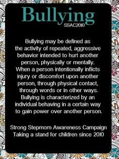 use the system to bully you control freak More