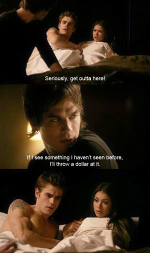 ... making, morning, naked, rflo, sex, sexy, show, stefan, vampire diaries