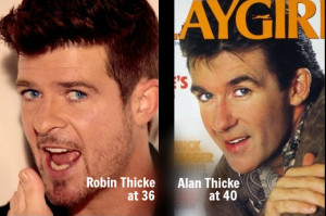 Alan Thicke Robin Thicke Mom