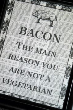 ... Quotes Worth Pinning food groups, food quotes, bacon quotes, funny