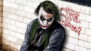 The Joker in Batman Movie Wallpaper