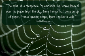 Spider Web Quotes http://skinnyartist.com/pin/quotes/art/inspiration ...