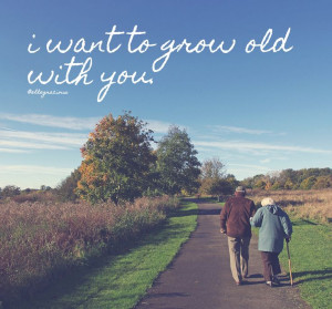 want to grow old with you #quotes #quoteoftheday #qotd #couple #love ...