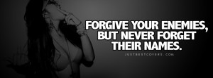 Forgive You Enemies Facebook Cover Photo