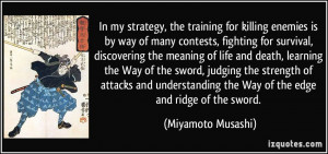 the training for killing enemies is by way of many contests, fighting ...