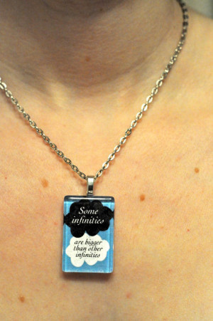 The Fault in Our Stars John Green Quote Necklace 1 by AmeryStudios