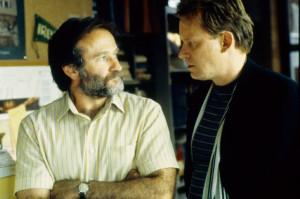 ... of Robin Williams and Stellan Skarsgård in Good Will Hunting (1997