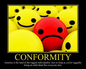 Motivational Poster Conformity