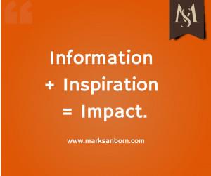 "Latest Mark Sanborn ""Quote Graphics"""